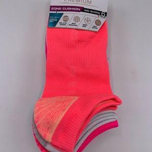 Avia Premium No Show Athletic Socks